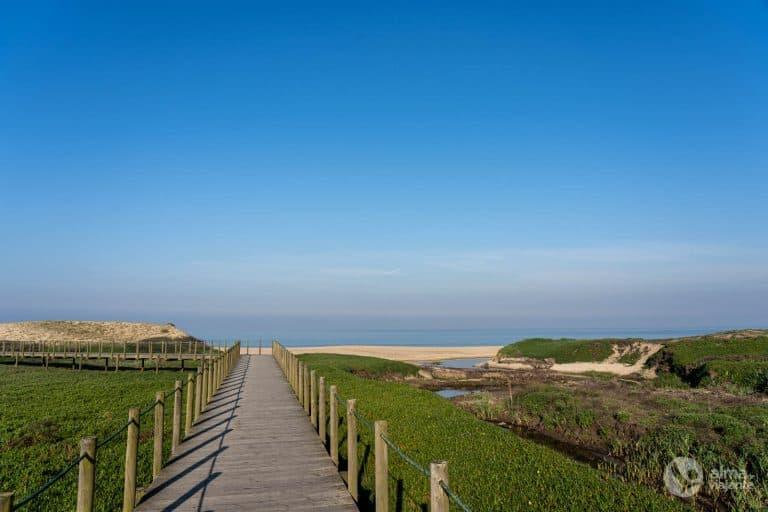 Passadiços de Vila do Conde: Praia da Areia