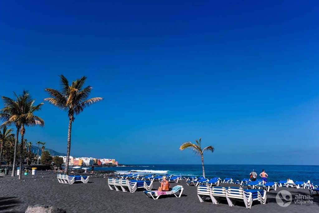 Roteiro de Tenerife: Playa de Jardín, Puerto de la Cruz