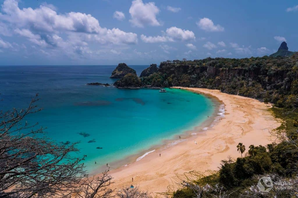 Melhor praia de Noronha: Praia do Sancho