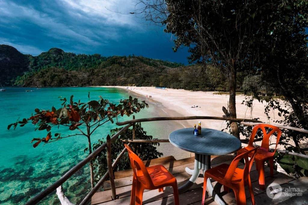 Praia Farang, Koh Muk