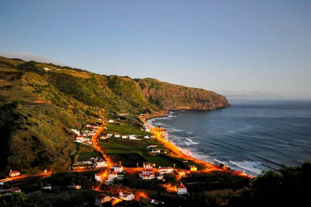 Praia Formosa í kvöld