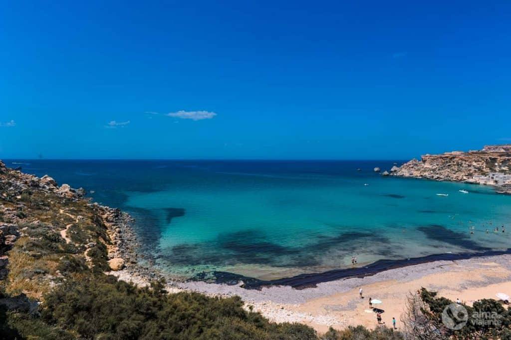 Praia Golden Bay, Malta