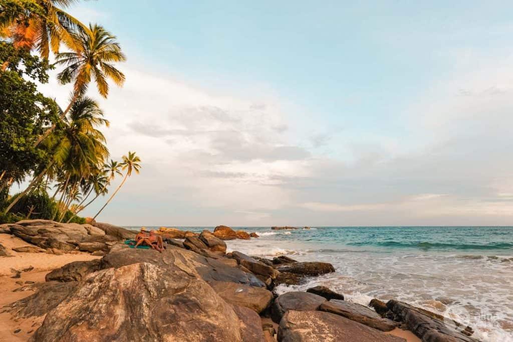Praia de Goyambokka, Sri Lanka