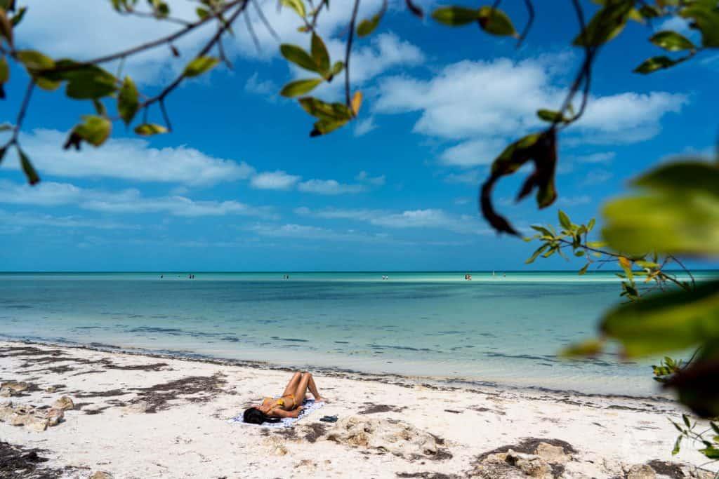 Fazer Praia em Holbox