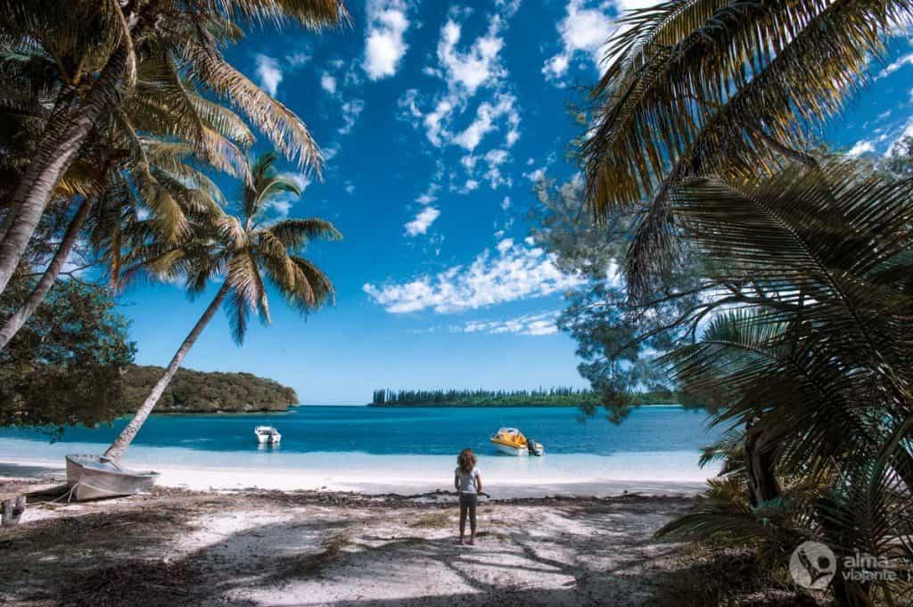 Praia na Ilha dos Pinheiros