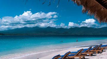 Praia em Gili Air