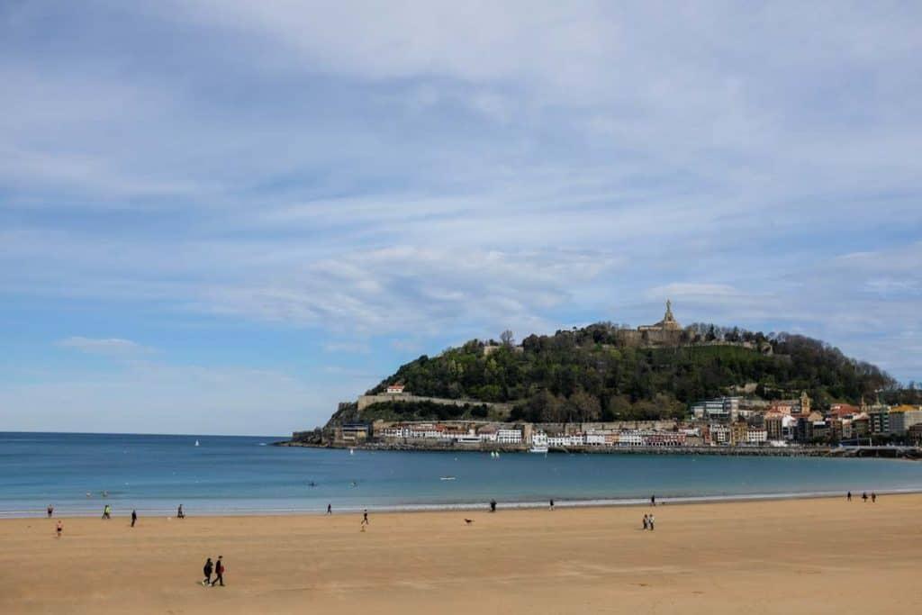 Praia La Concha, San Sebastián