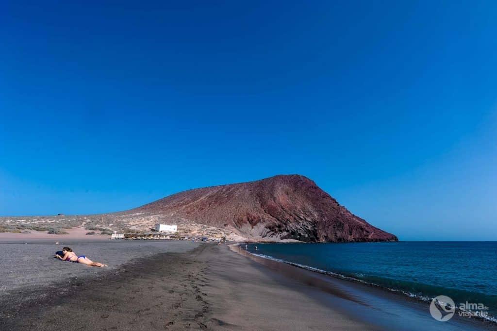 Geriausi Tenerifės paplūdimiai: La Tejita