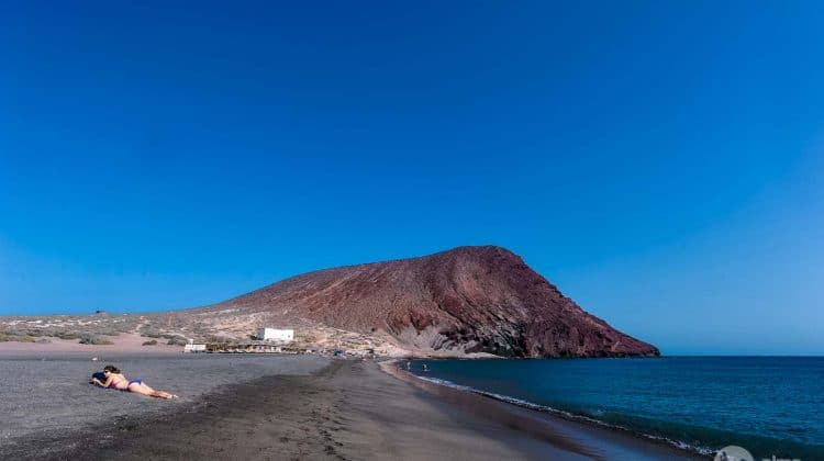 Najlepsze plaże na Teneryfie: La Tejita