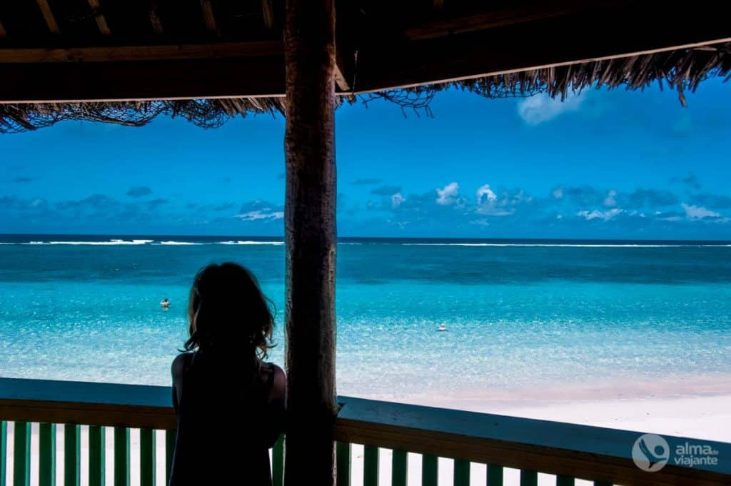 Lalomano paplūdimys, Opulo, Samoa