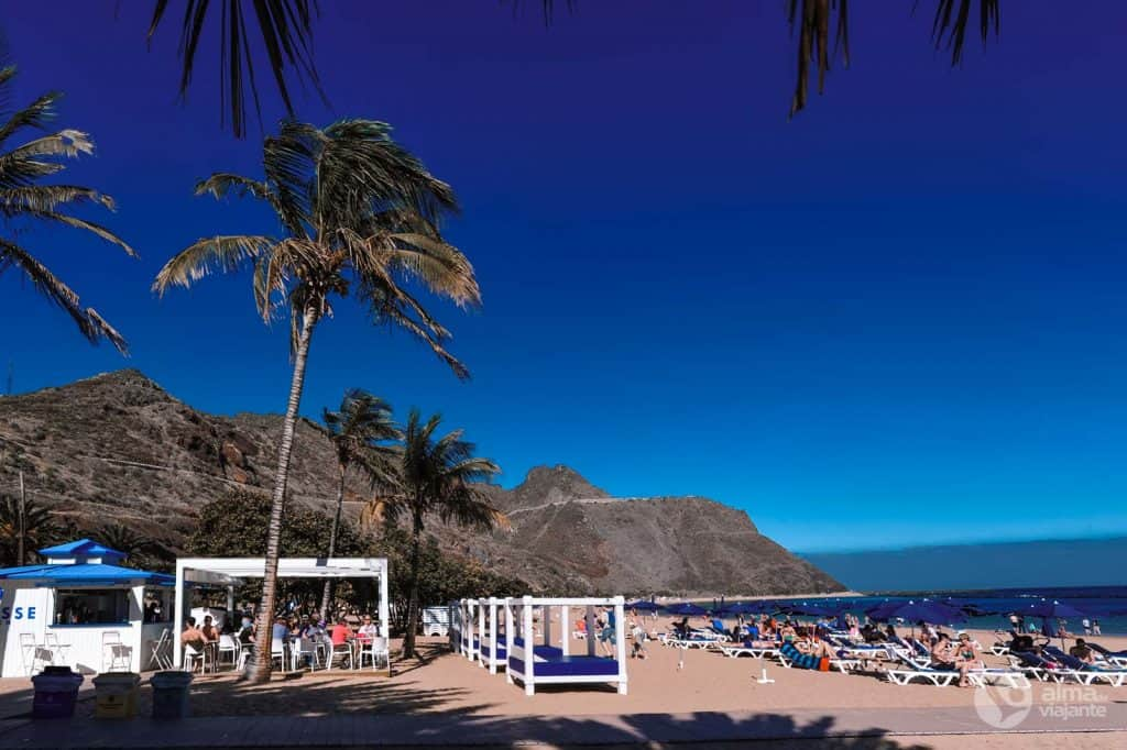 Bestu strendur á Tenerife: Las Teresitas
