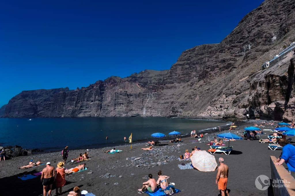 Praias de Tenerife: Los Gigantes