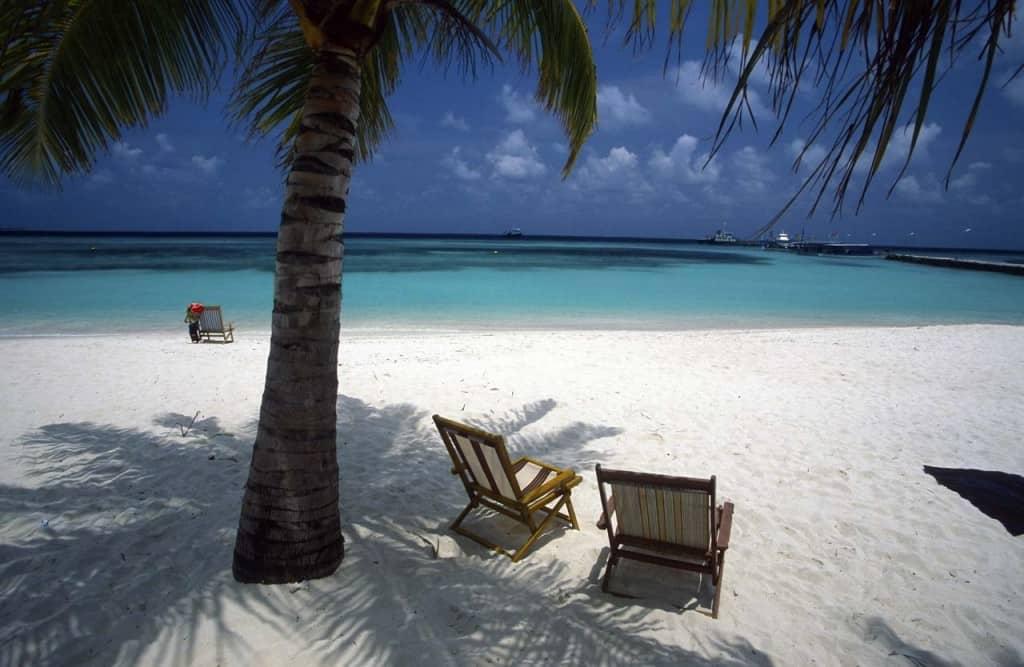 Maldiivien ranta