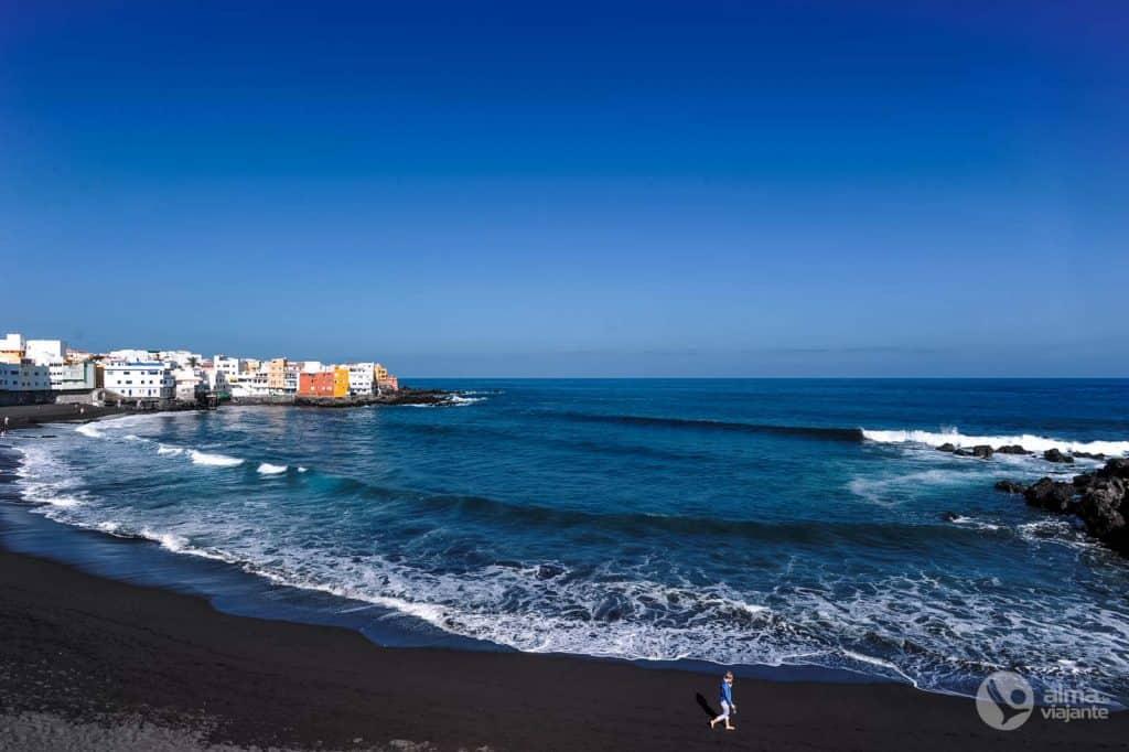 Melhores praias de Tenerife: praia Jardín