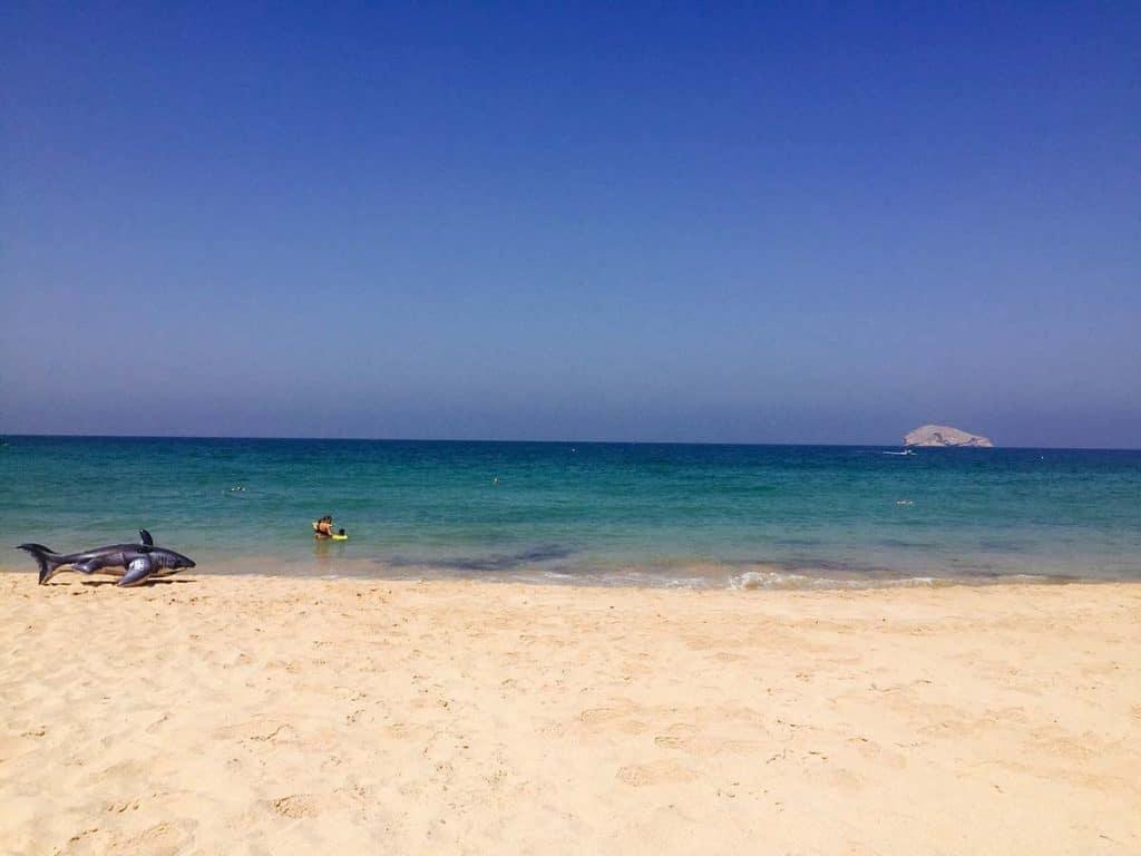 Muscat'ta yaşamak: plajlar