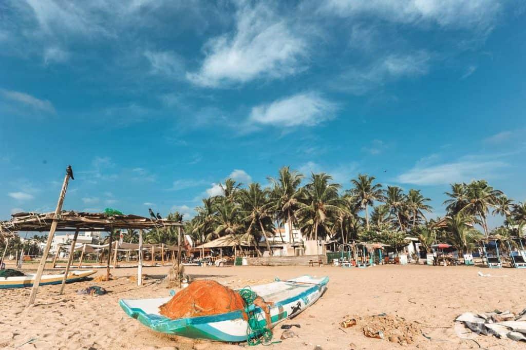 O que fazer em Negombo: praia