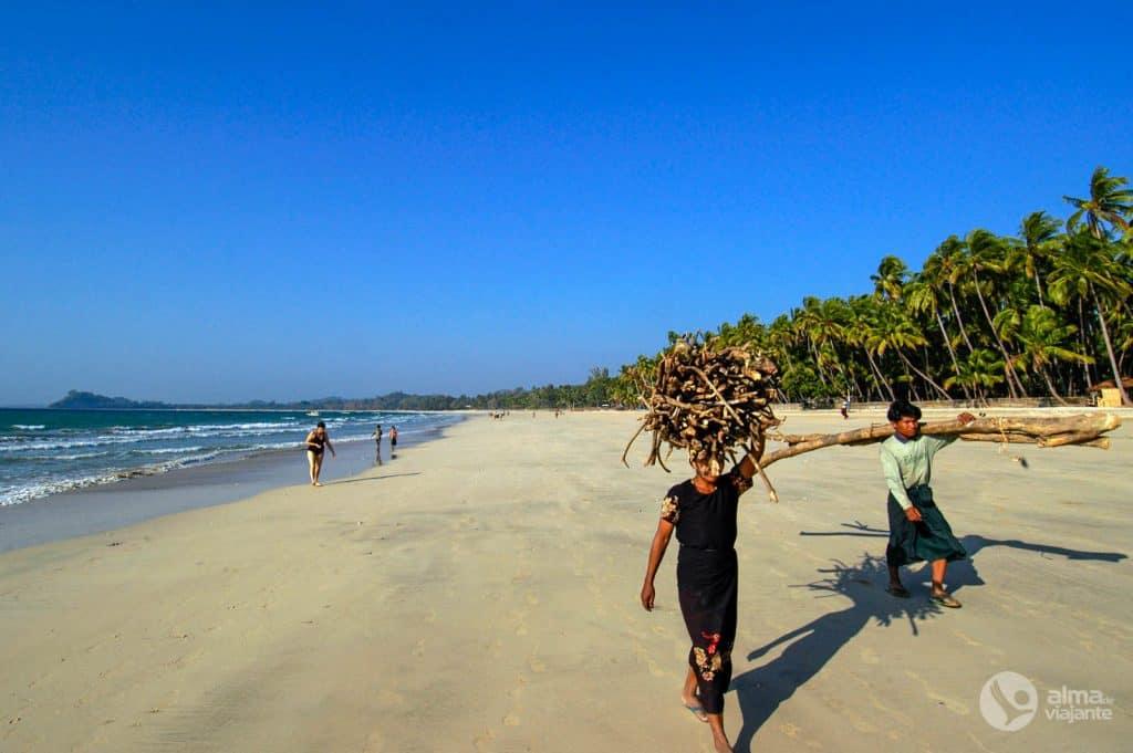 Melhores praias do mundo: Ngapali,  Myanmar
