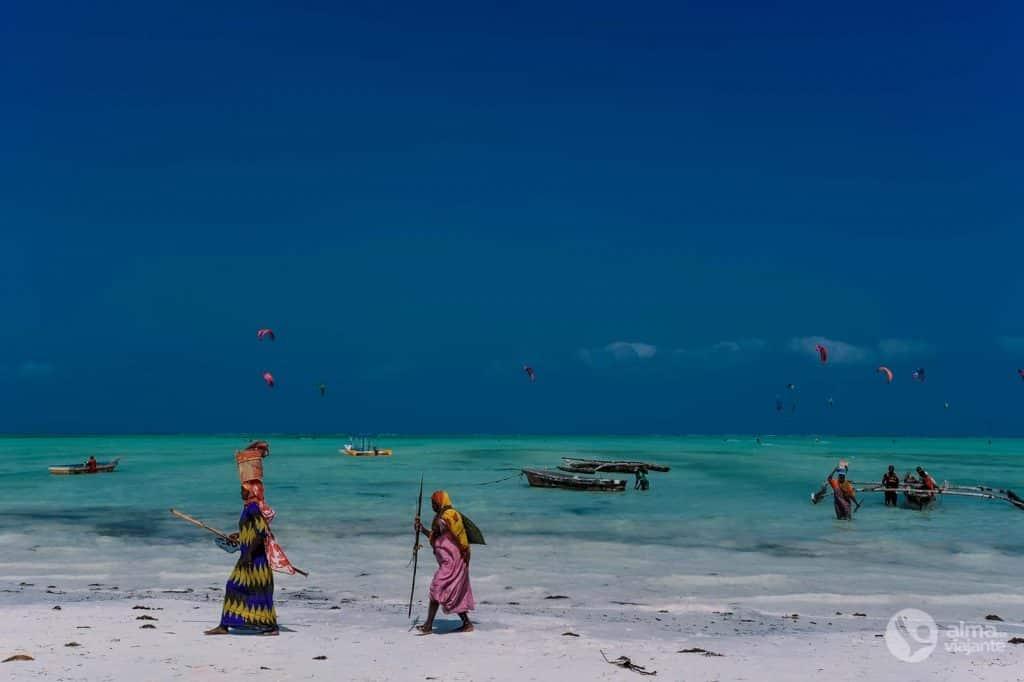 Praia de Paje, Zanzibar