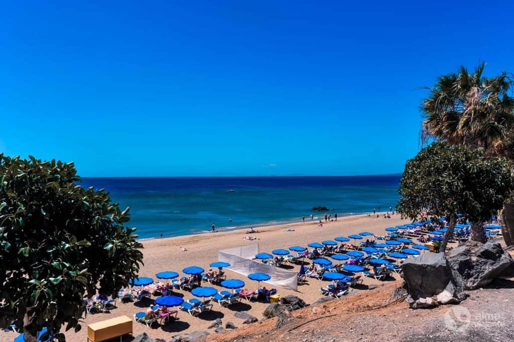 Praia Lanzarote: Puerto del Carmen