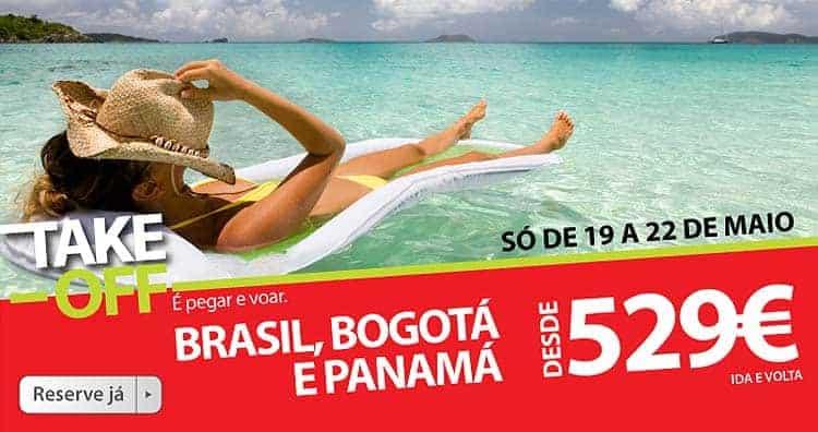 Propagácia TAP pre Brazíliu, Kolumbiu a Panamu