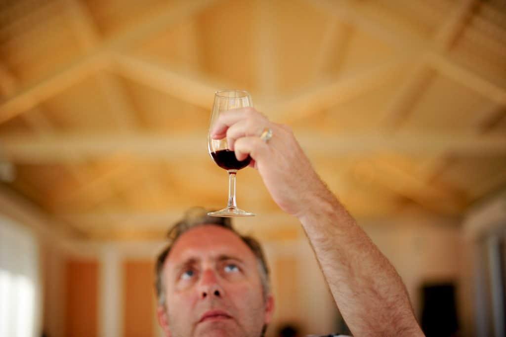 Prova de vinho Symington