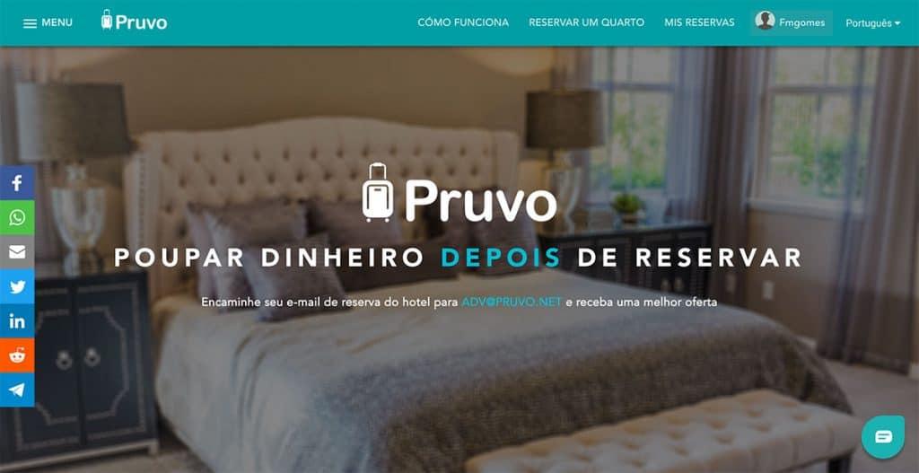 Pruvo: poupar dinheiro em hotéis