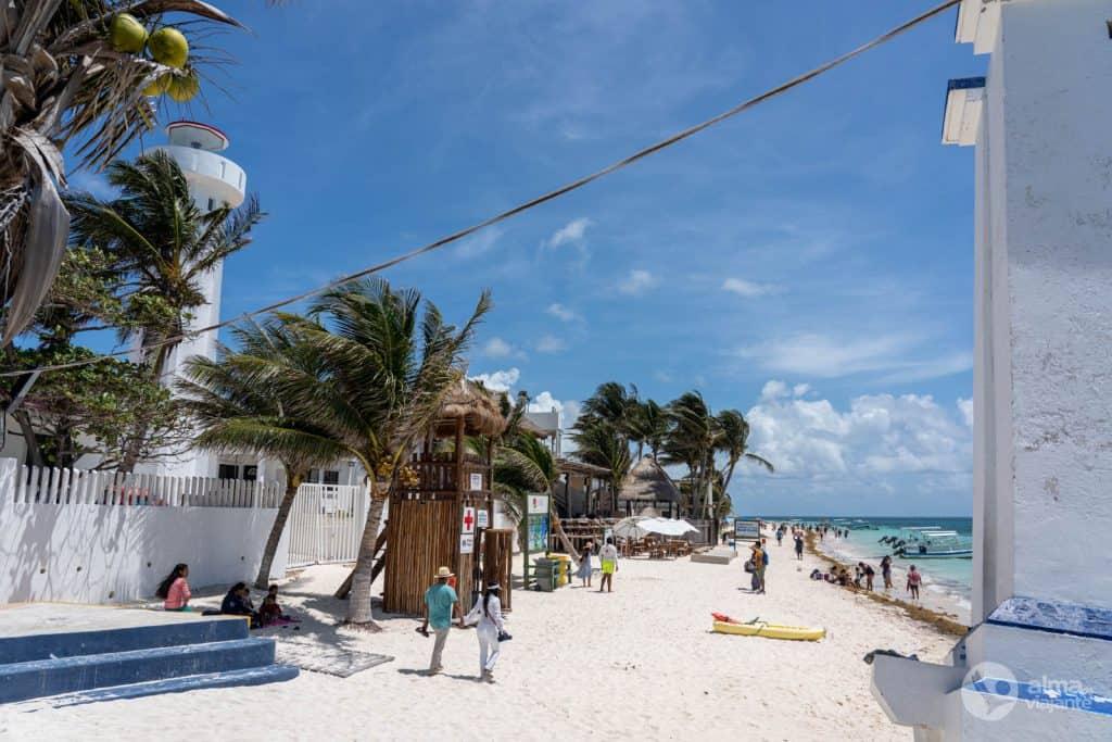 O que fazer em Puerto Morelos: praia