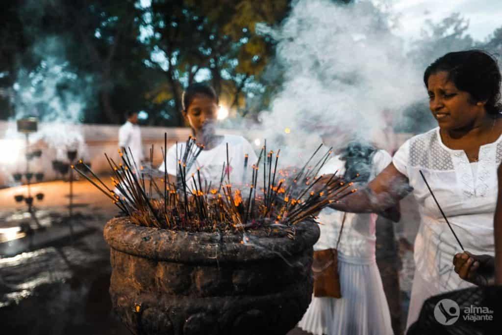 Roteiro no Sri Lanka: puja de Kataragama
