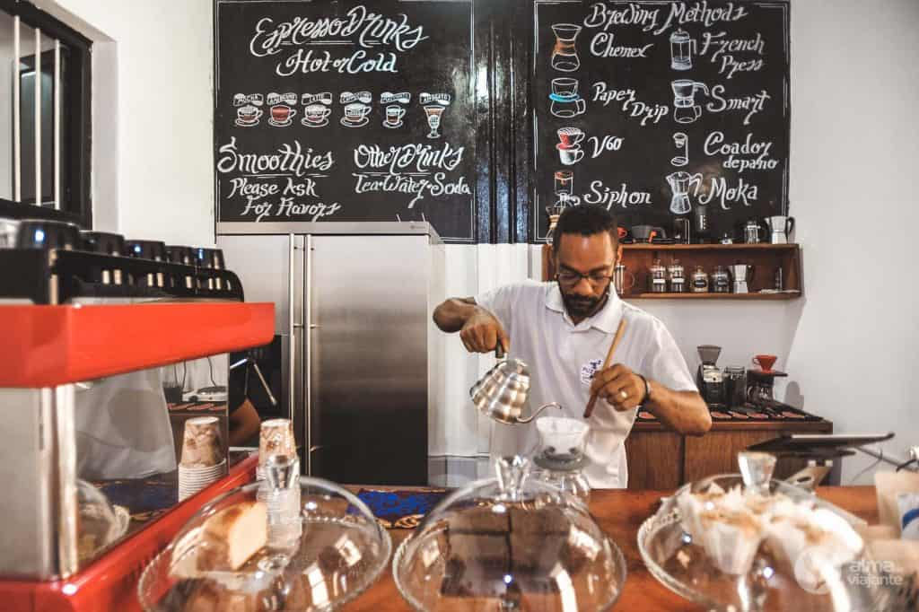 Melhores cafés de Stone Town: Puzzle Coffee Shop