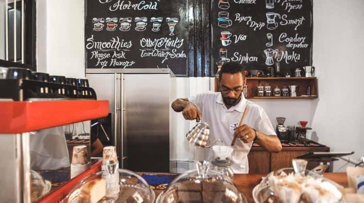 Melhores cafés de Stone Town: Puzzle Café