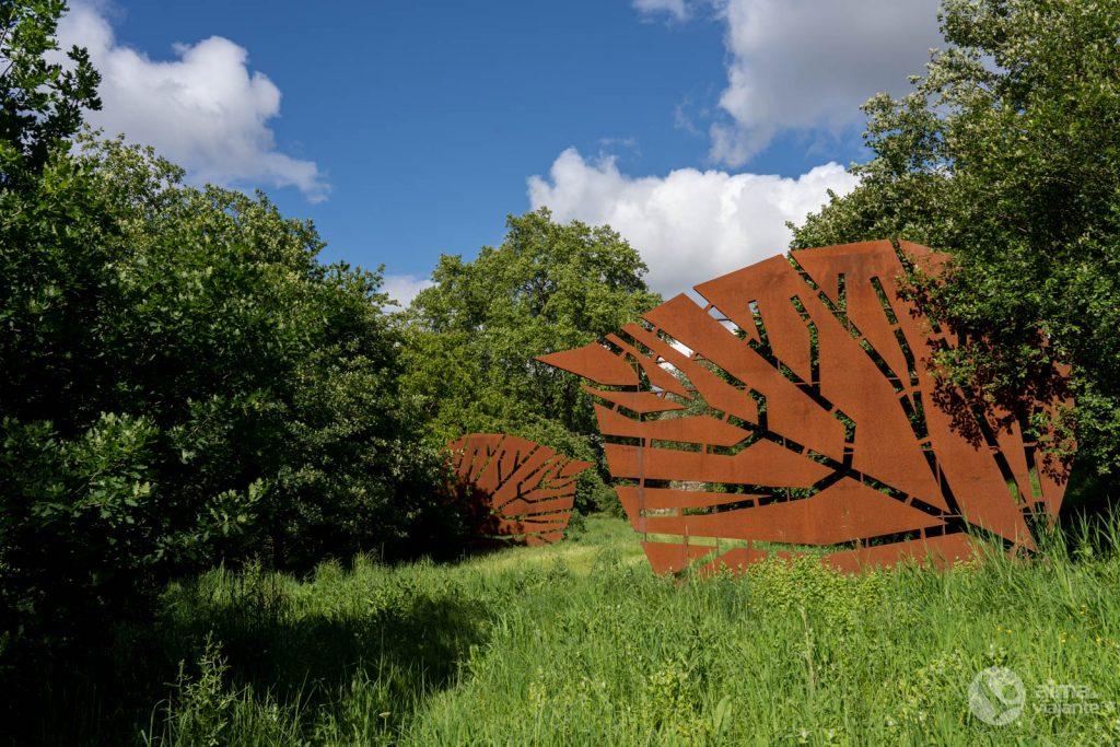 Arte contemporânea na Quinta da Cruz, Viseu
