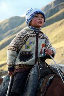 Criança Quirguistão