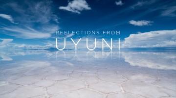 Reflexos de Uyuni