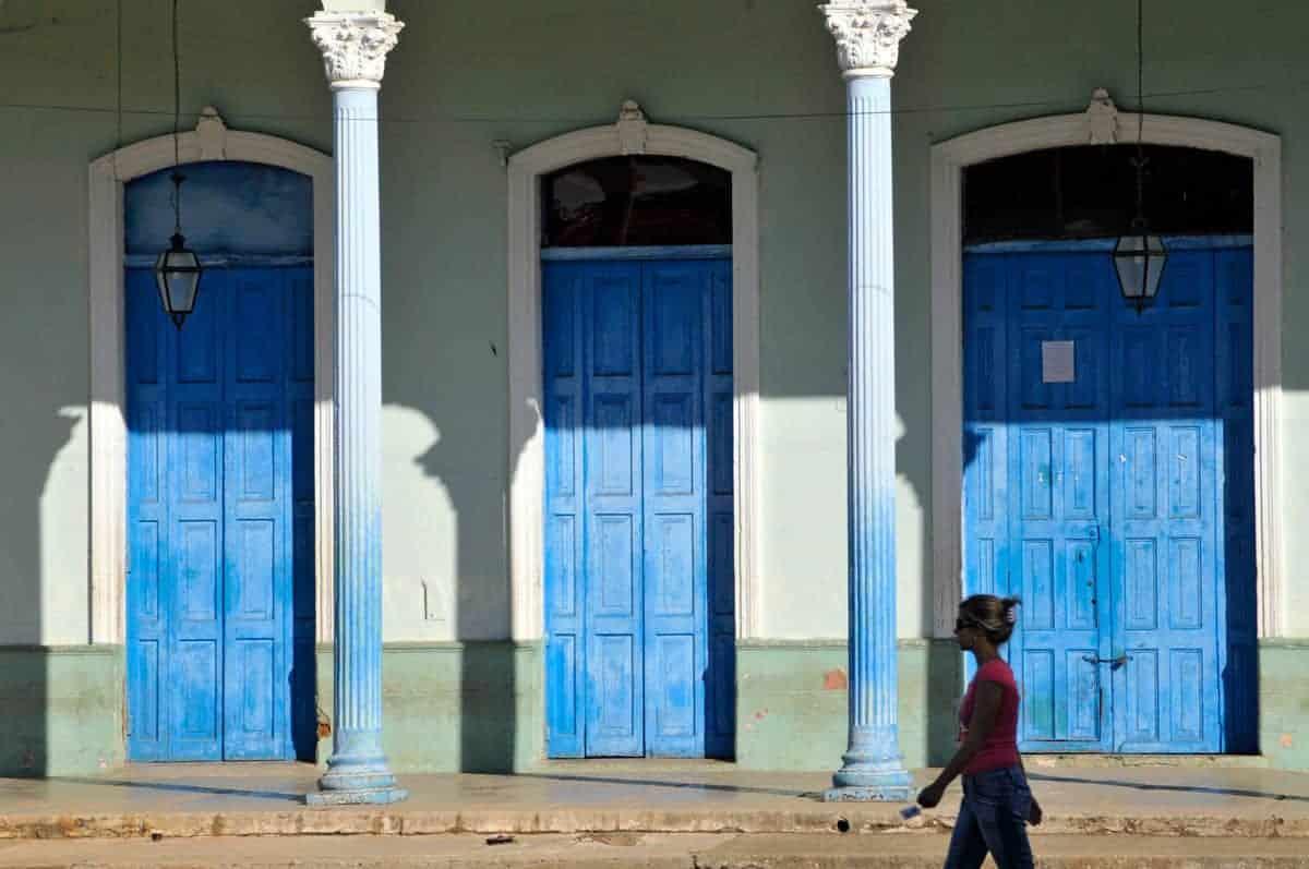 Fachada de Remédios, Cuba