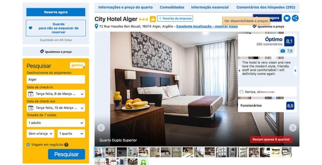Reservar hotéis