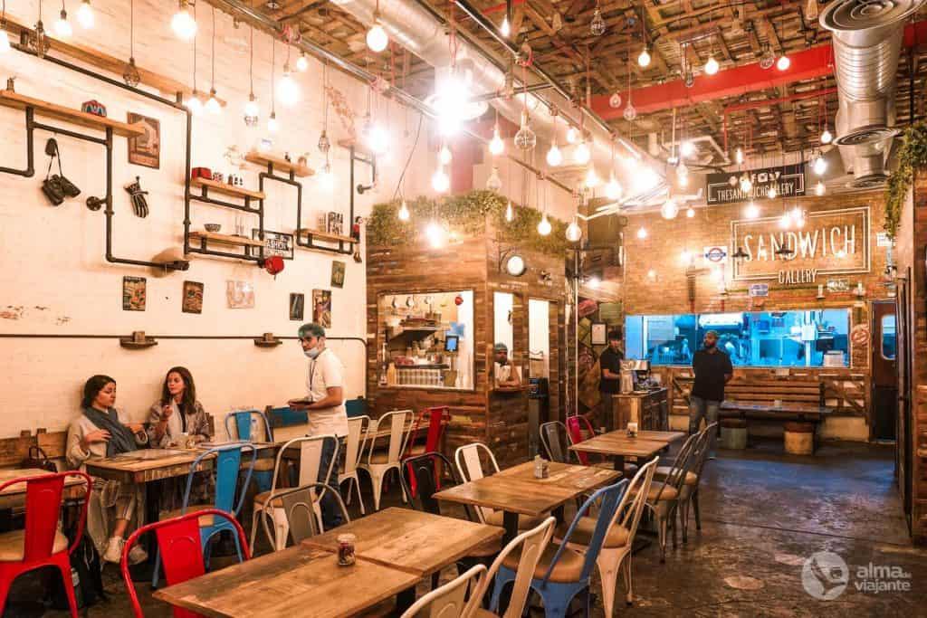 O que fazer em Jeddah: The Sandwich Gallery