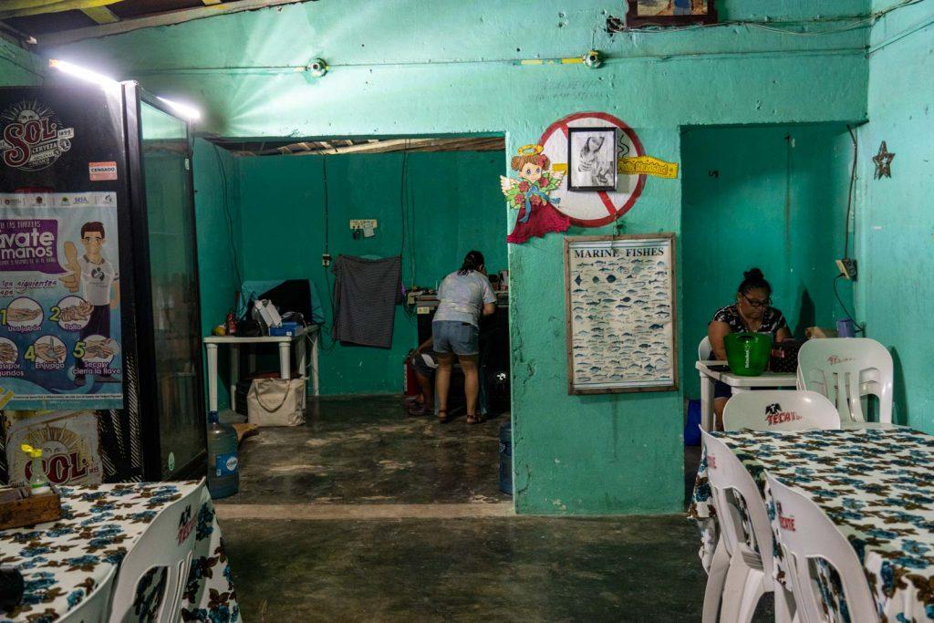 Restaurante Taco Loco, Punta Allen