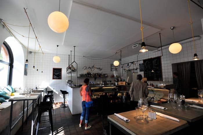 Restaurante Westermans Fisk em Odenplan, Estocolmo