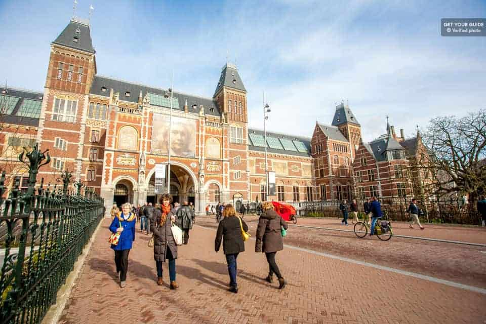Atrakcie v Amsterdame: Rijksmuseum
