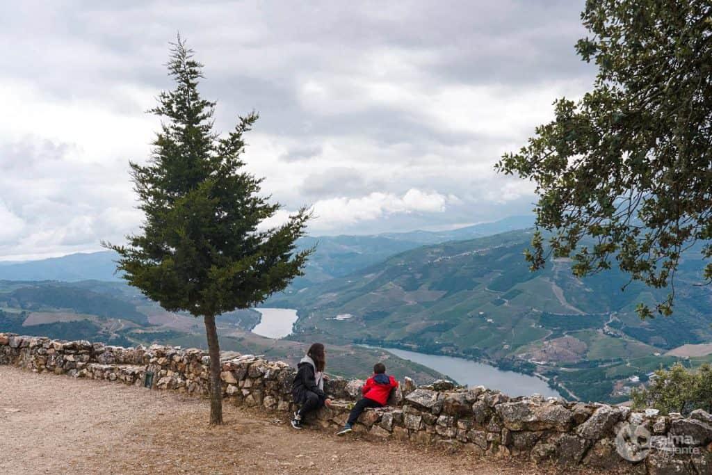 O rio Douro, visto de São Leonardo de Galafura