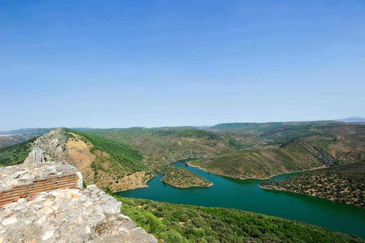 Vista do Castelo Monfrague