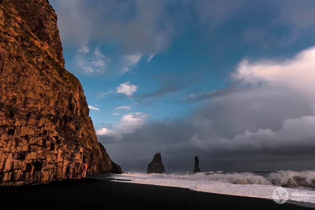 Praia de Reynisfjara, Islândia