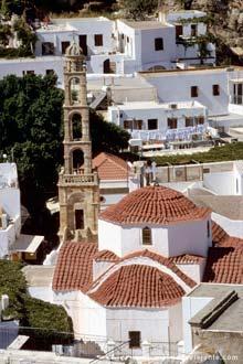 Lindós, ilha grega de Rodes