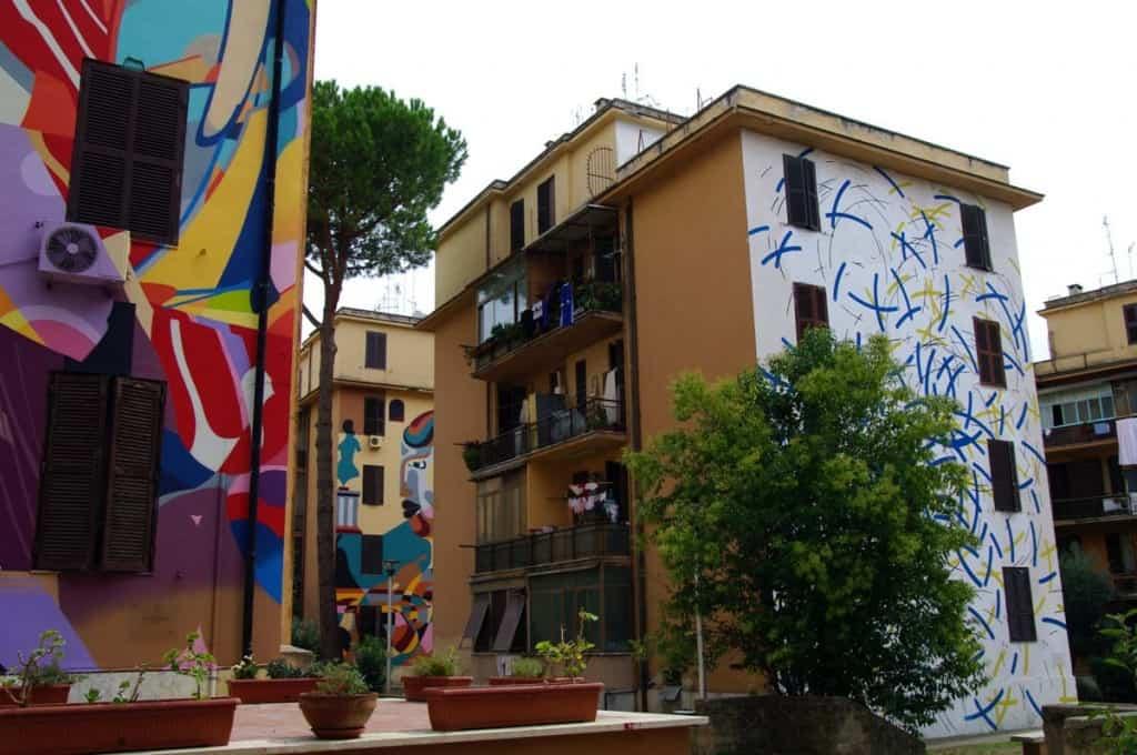 O que fazer em Roma: Street art em Tor Marancia