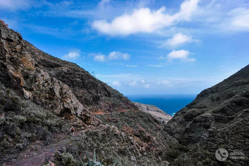 Reisi marsruut Tenerifes: reisimine Chamorgal Roque Bermejo'le