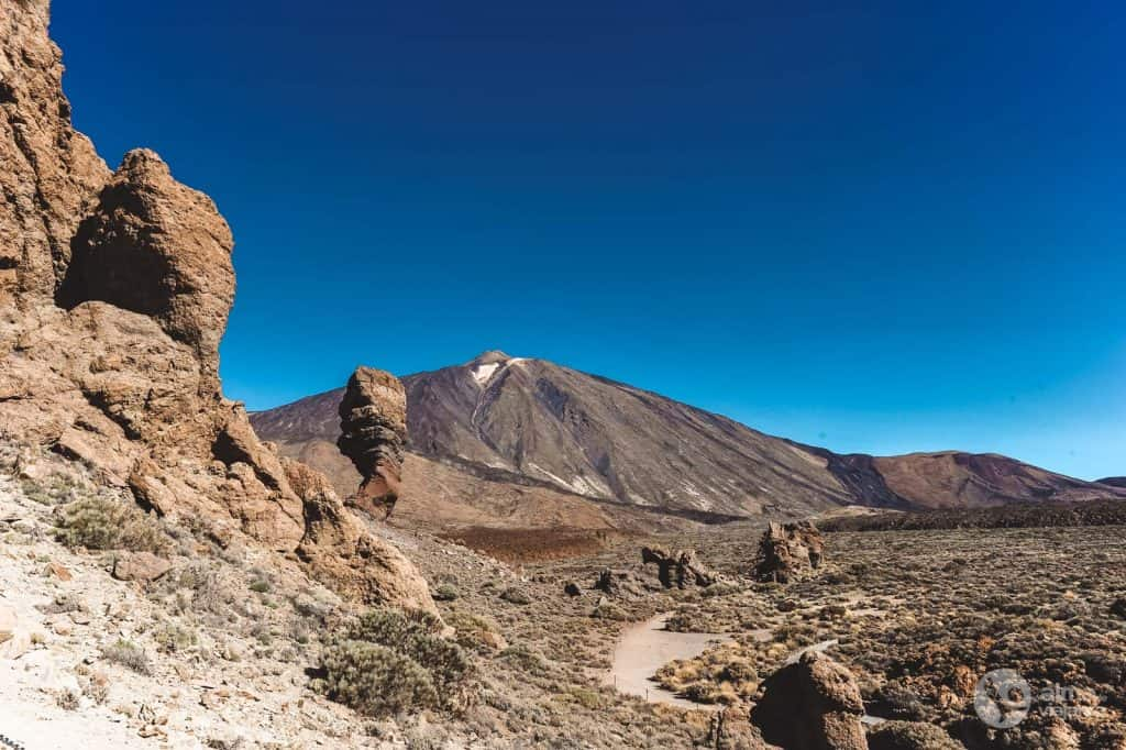 Scenario in Teide: Roque Cinchado