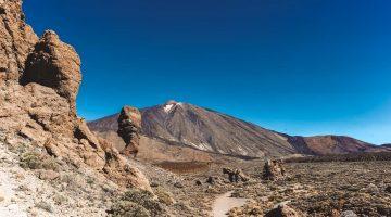 Roque Cinchado, Teide