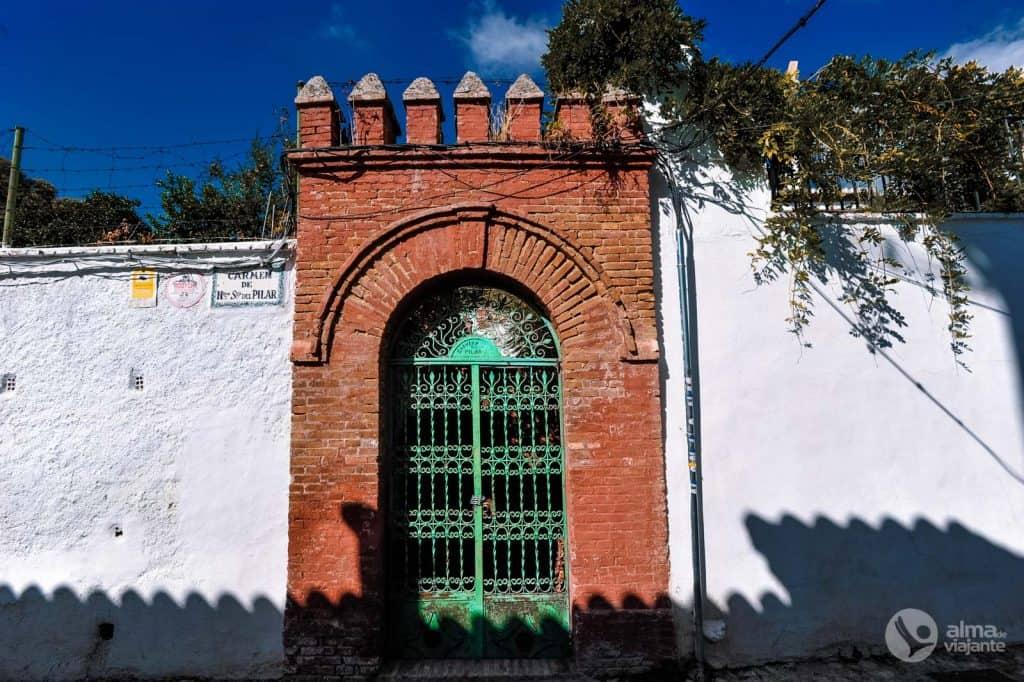 Albaicín Granada framhlið