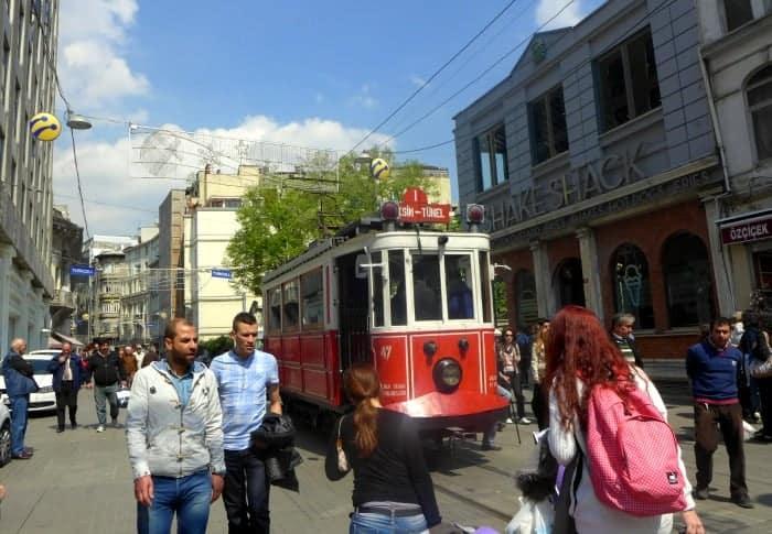 Rua Istiklal, Beyoglu, Istambul