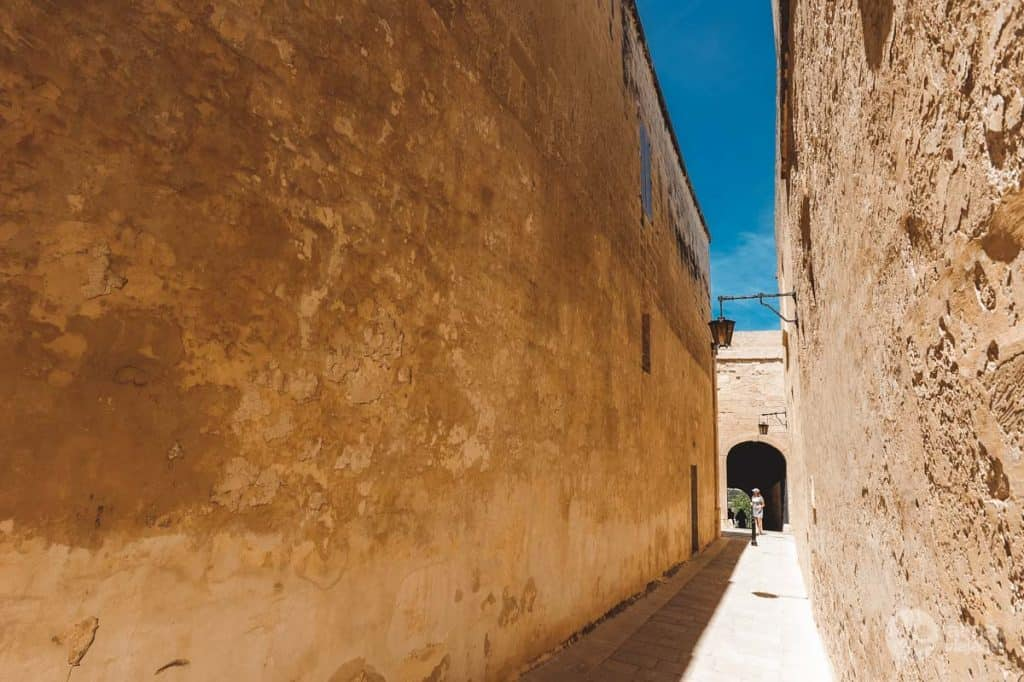 Historické centrum Mdiny na Malte
